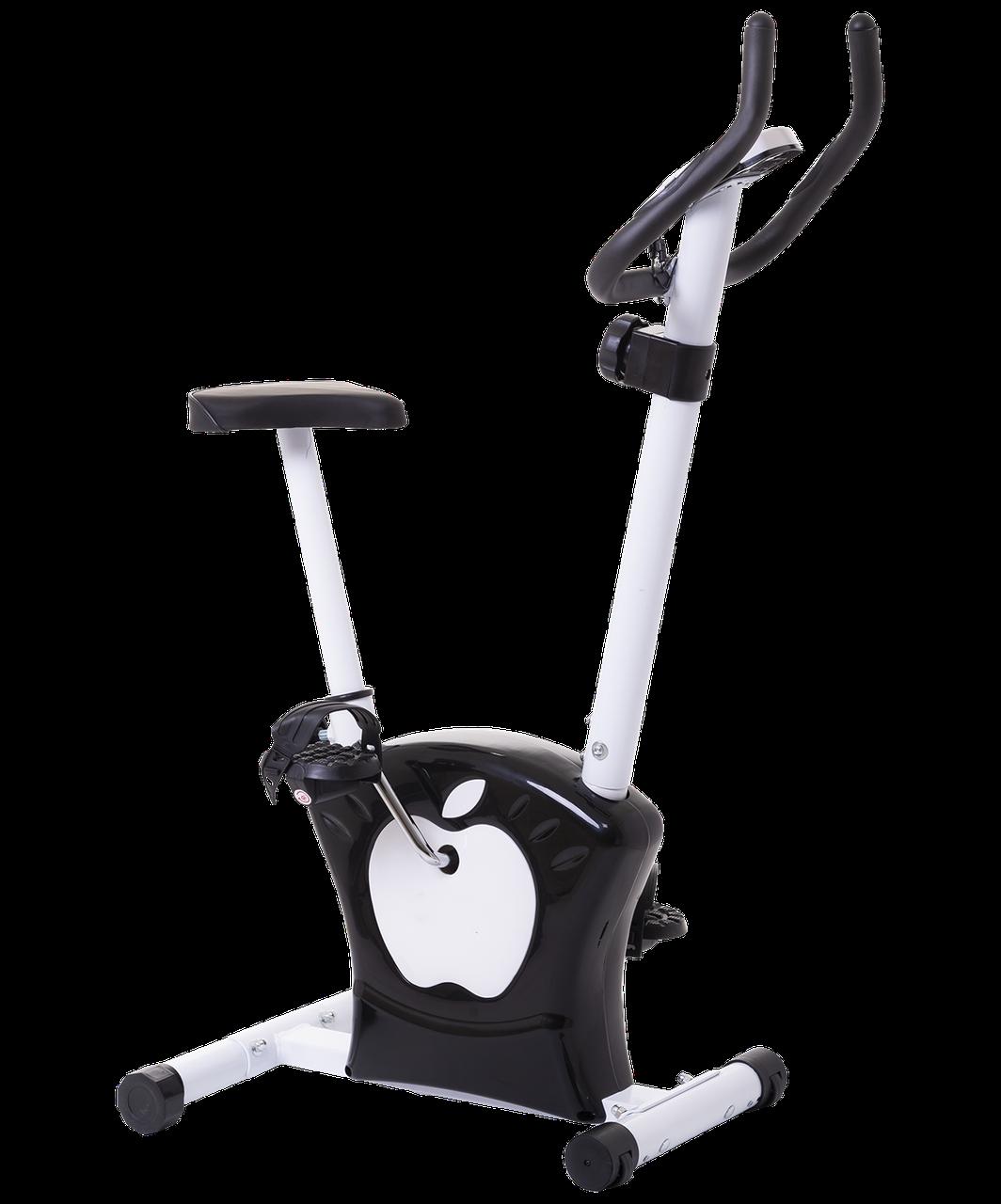 Велотренажер - Magnetic Bike (черно-белый)