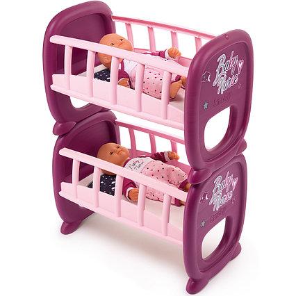 Кукольная кроватка для двойни Baby Nurse Smoby