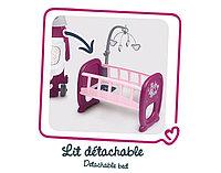 Кукольная кроватка для Baby Nurse с мобилем Smoby