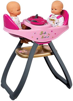 Стульчик для кормления для двух кукол Smoby Baby Nurse