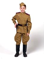 Форма офицера пехоты для Мальчика (Полный Комплект) на рост 122 См