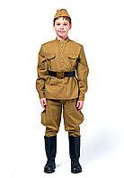 Форма солдата для Мальчика (Полный Комплект) на рост 134 См