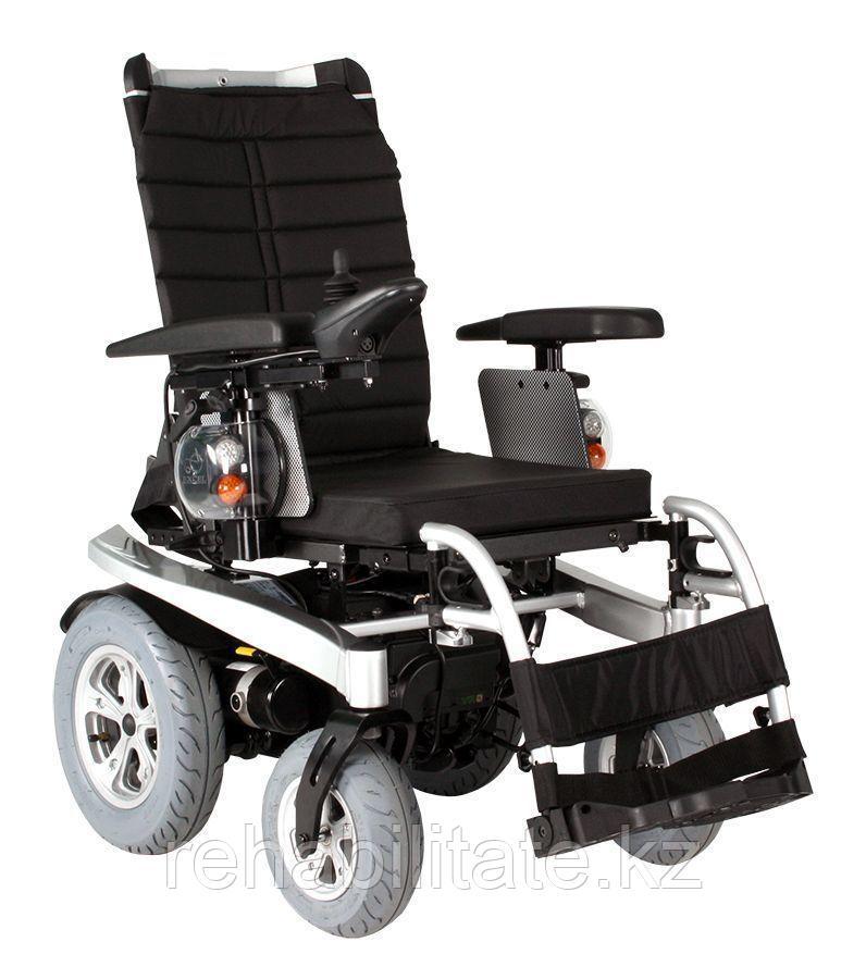 Кресло-коляска дорожная с электроприводом повышенной комфортности и проходимости AIRIDE GO.