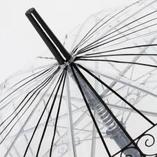 Прозрачный купольный зонт, фото 3