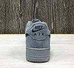 Кроссовки Зимние Nike Air Force 1 Winter (Grey), фото 3