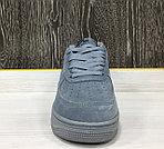 Кроссовки Зимние Nike Air Force 1 Winter (Grey), фото 4