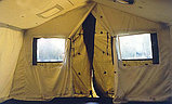 Палатка брезентовая зимняя армейская памир-10  памир-6  -местная новая военная, фото 3