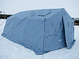 Палатка брезентовая зимняя армейская памир-10  памир-6  -местная новая военная, фото 4
