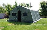 Палатка брезентовая зимняя армейская памир-10  памир-6  -местная новая военная, фото 6