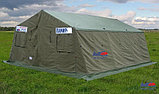 Палатка брезентовая зимняя армейская памир-10  памир-6  -местная новая военная, фото 7