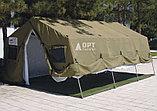 Палатка брезентовая зимняя армейская памир-10  памир-6  -местная новая военная, фото 8