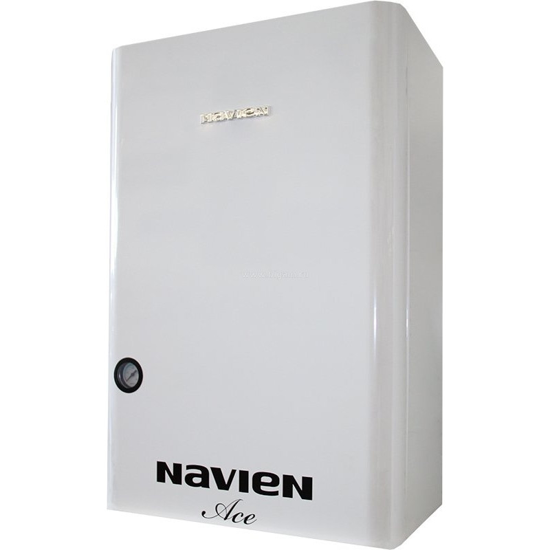 Navien Deluxe - 16A White газовый настенный двухконтурный котел