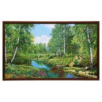 Картина 'Лесной ручеёк' 104х64 см