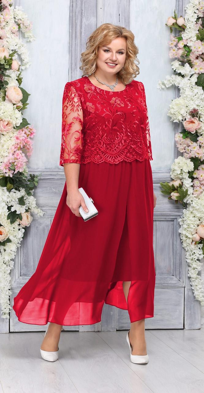 Платье Ninele-7268, красный, 56
