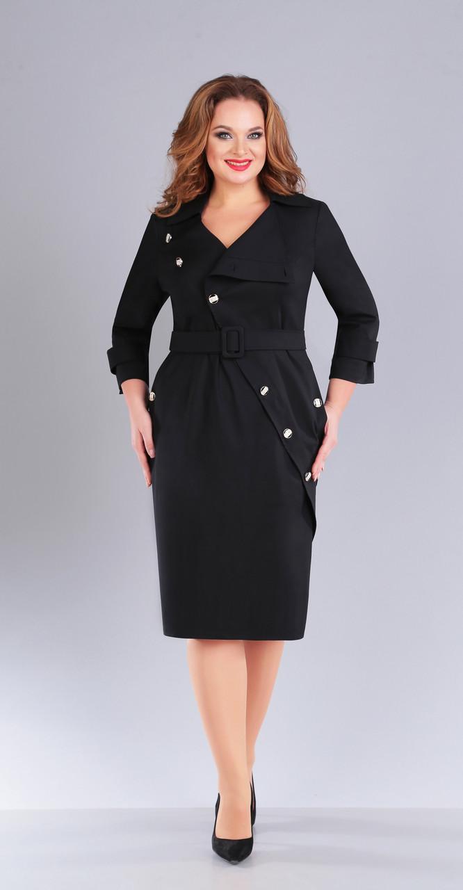 Платье Foxy Fox-151, черный, 52