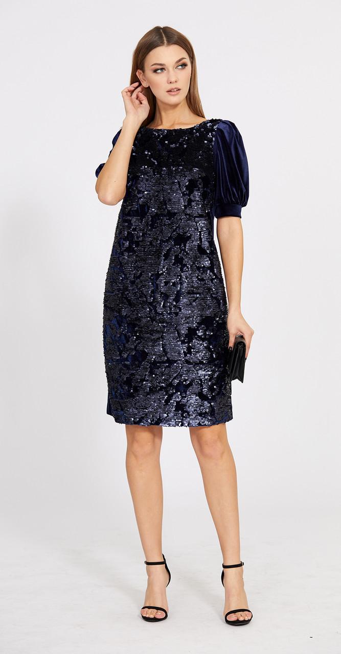 Платье EOLA-1775, темно-синий, 42