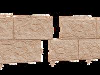 "Сайдинг ""Камень"" Золотистый 3м.STONE HOUSE"