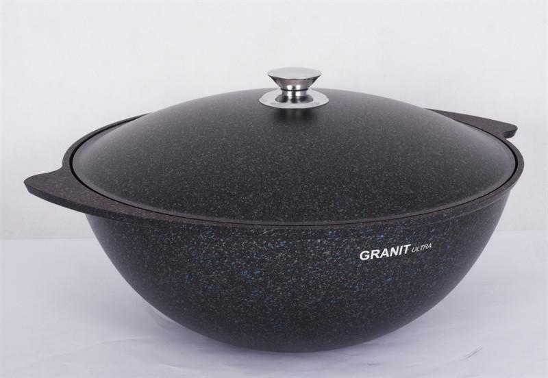 """Казан для плова 7 литров, АП линия """"Granit ultra"""" (original)"""
