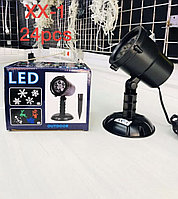 Светящиеся ( светомузыка, лазерная гирлянда ) для новогоднего украшения. Алматы