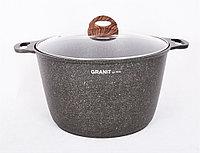 """Кастрюля 10 литров со стеклянной крышкой, АП линия """"Granit ultra"""" (original)"""