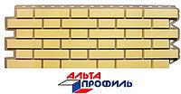 """Панель фасадная Альта-Профиль """"Кирпич Клинкерный Желтый"""""""