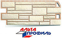"""Панель фасадная Альта-Профиль """"Камень Белый"""""""