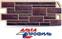 """Панель фасадная Альта-Профиль """"Камень Жженый"""""""