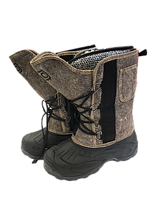 Сапоги мужские войлочные на шнурах в алматы