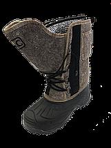 Сапоги мужские войлочные на шнурах в алматы, фото 2