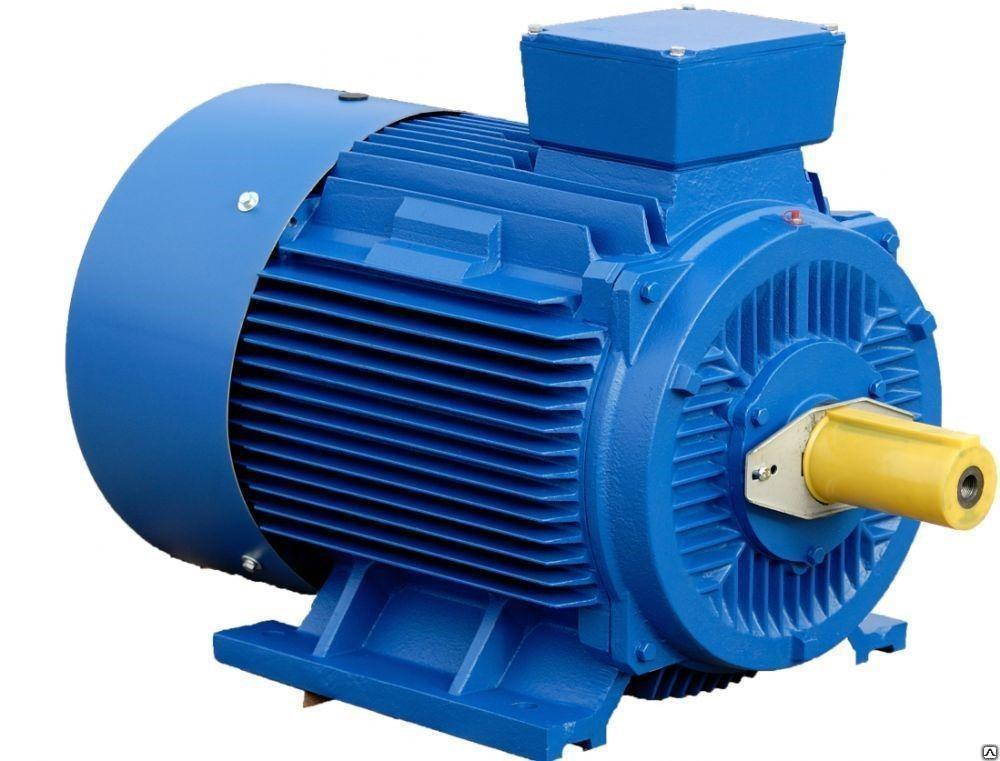 Электродвигатель крановый  МТФ411  22 квт 960 об/мин с конусным валом