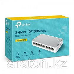 TP-Link, TL-SF1008D, коммутатор 8-портовый 10/100 mb/s