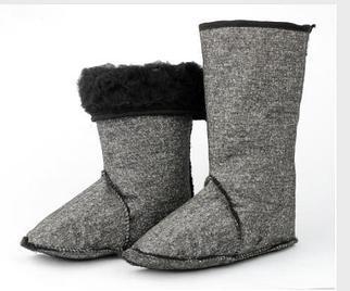 Чулки для утепления обуви на искусственном меху в Алматы