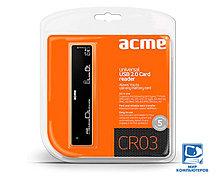 Кардридер ACME CR03 universal USB 2.0 Card reader