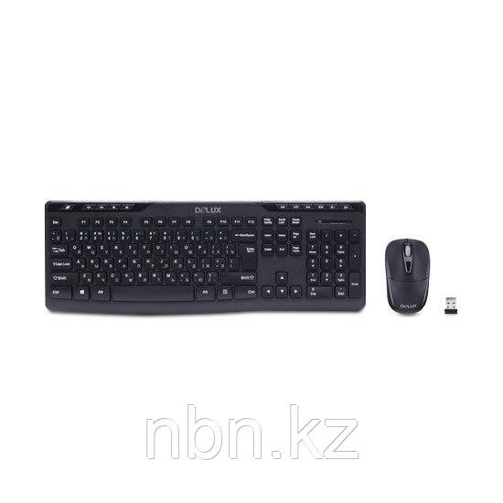 Комплект Клавиатура + Мышь Delux DLD-0605OGB