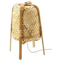 Лампа настольная КНИКСХУЛЬТ бамбук ИКЕА, IKEA