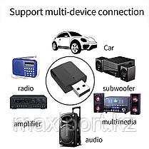 USB адаптер Bluetooth 5,0 аудио передатчик \ приемник 3,5 мм кабель для ТВ ПК, фото 3