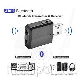 USB адаптер Bluetooth 5,0 аудио передатчик \ приемник 3,5 мм кабель для ТВ ПК