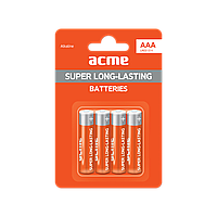 Батарейка алкалиновая ACME LR03 Alkaline Batteries AAA/4pcs