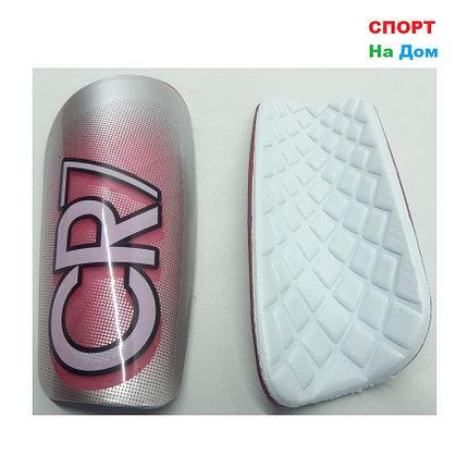 Футбольные щитки CR7 (Цвет Розовый), фото 2