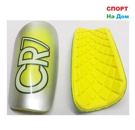 Футбольные щитки CR7 (Цвет Желтый), фото 2