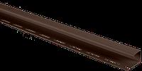 """J-планка торцевая3,05м. Коричневый """"Альта-Профиль"""""""