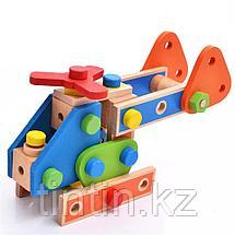 Деревянный конструктор - 70 деталей, фото 2