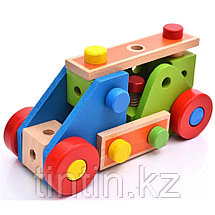 Деревянный конструктор - 70 деталей, фото 3