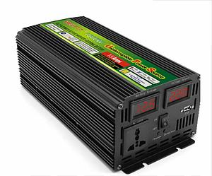 Инвертор преобразователь 12 220 SMART 1500 Вт с функцией зарядки и UPS