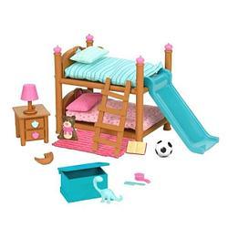 Li'l Woodzeez Игровой набор Двухъярусная кровать для детской комнаты
