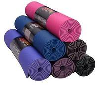 Коврик для йоги и фитнеса TPE. Профессиональный каремат. Сумка в подарок