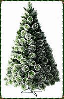 """Ель """"Сосна"""" зеленая со снегом высота 150 см"""