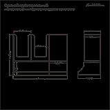 Органайзер 3х секционный настольный, фото 6