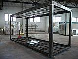 Металлический каркас разборного модульного здания офисного, торгового, жилого, складского, технического, фото 2