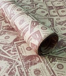 Бумага крафт упаковочная доллар